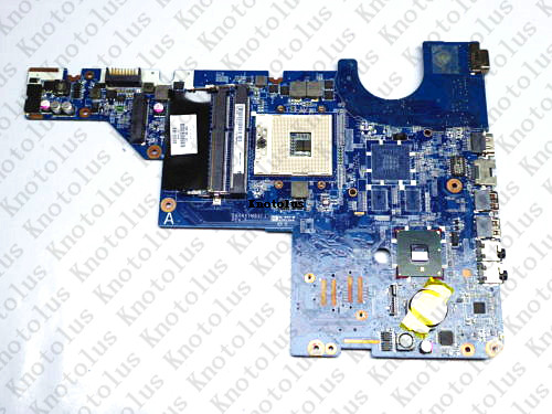 595184-001 for HP Pavilion G42 G62 laptop motherboard DA0AX1MB6H1 DDR3 Free Shipping 100% test ok 574680 001 1gb system board fit hp pavilion dv7 3089nr dv7 3000 series notebook pc motherboard 100% working