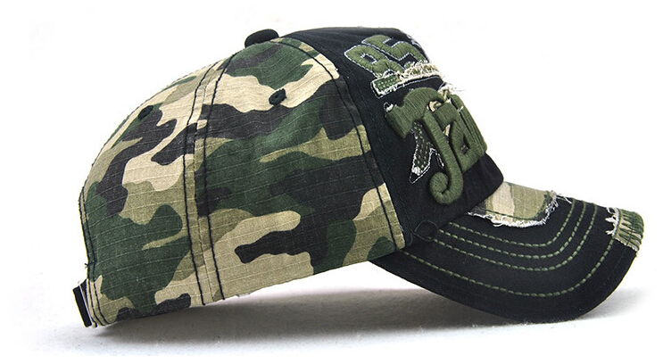 Topdudes.com - Unisex Camouflage Baseball Cap Casual Outdoor Sport Snapback Hat For Men
