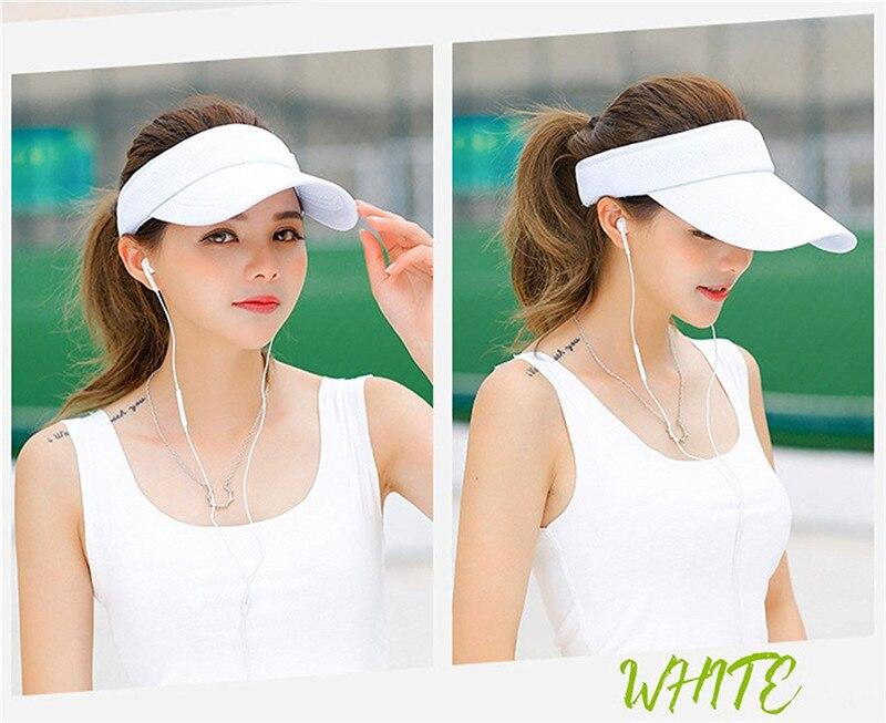 golfe correndo protetor solar hat