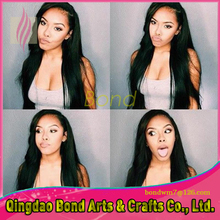 Full Lace Human Hair Wigs / Lace Front Human Hair Wigs Brazilian Virgin Hair Straight Glueless Full Lace Wigs For Black Women