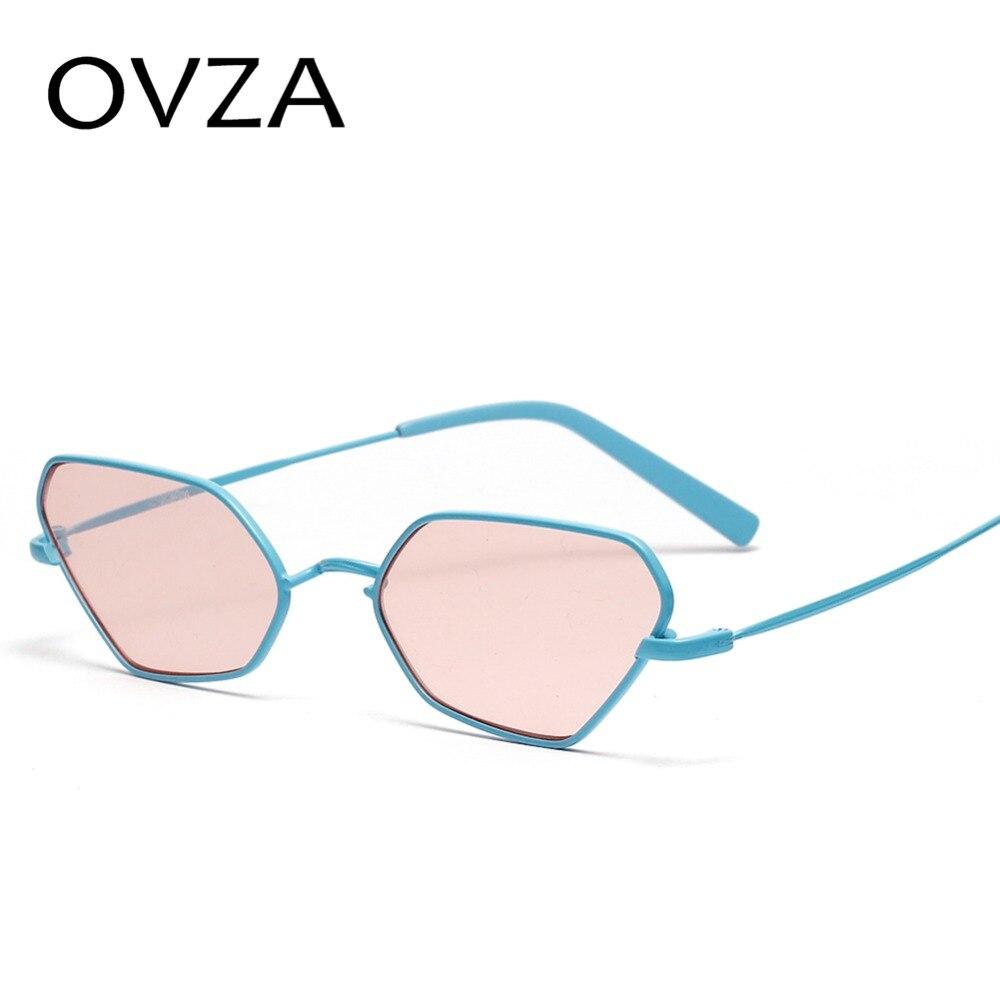 OVZA 2019 Luxury Brand Sunglasses for Men Feminine Glasses Irregular Fashion Narrow Sunglasses Cool Style S2037
