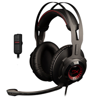 Kingston HyperX Cloud Revolver Headphones Studio grade sound stage lets you hear further Gaming Headset for FPS