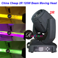 Flight Case+2Sets 120W Stage Lighting Beam 2R Moving Head DJ Spotlights Wash DMX Laser Disco Lampen Theatre Light, Free Shipping