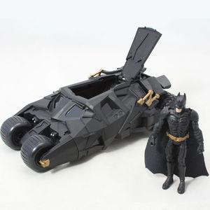 Image 2 - שני באחד מדהים באטמן כוס Batmobile צעצוע פעולה איור PVC עם מדבקת כמתנה