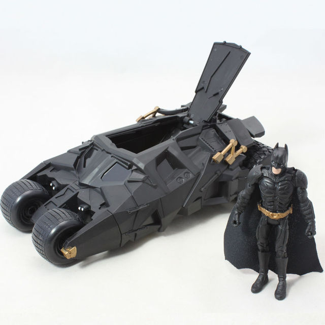 Two In One Awesome Batman Tumbler Batmobile Toy Action Figure