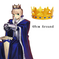 Free Shipping Fate Zero Fate stay night Saber The King's Crown Anime Cosplay Accessories