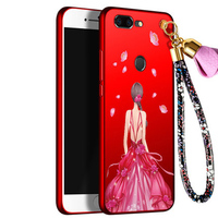 2pcs Phone Case For Oneplus 5T 5 T A5010 Case Back Case Lovely Girls Cover For