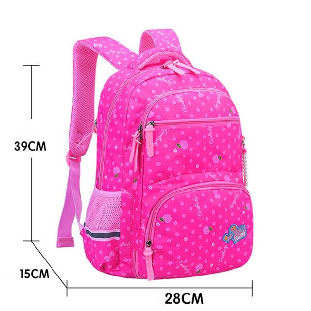2019 New orthopaedics schoolbags waterproof school backpacks for teenagers girls kids backpack Children school bags mochila 1