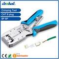 Nueva! Cat6 herramienta que prensa TL-2810R para UTP STP RJ45 / RJ11 conector