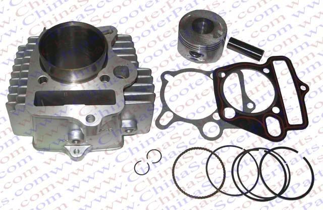 56.5 мм 15 мм 78 мм цилиндр комплект Лифан передачей 150cc 1P56FMJ двигателя Кайя Xmotos Аполлон Тмакс Пит Байк частей