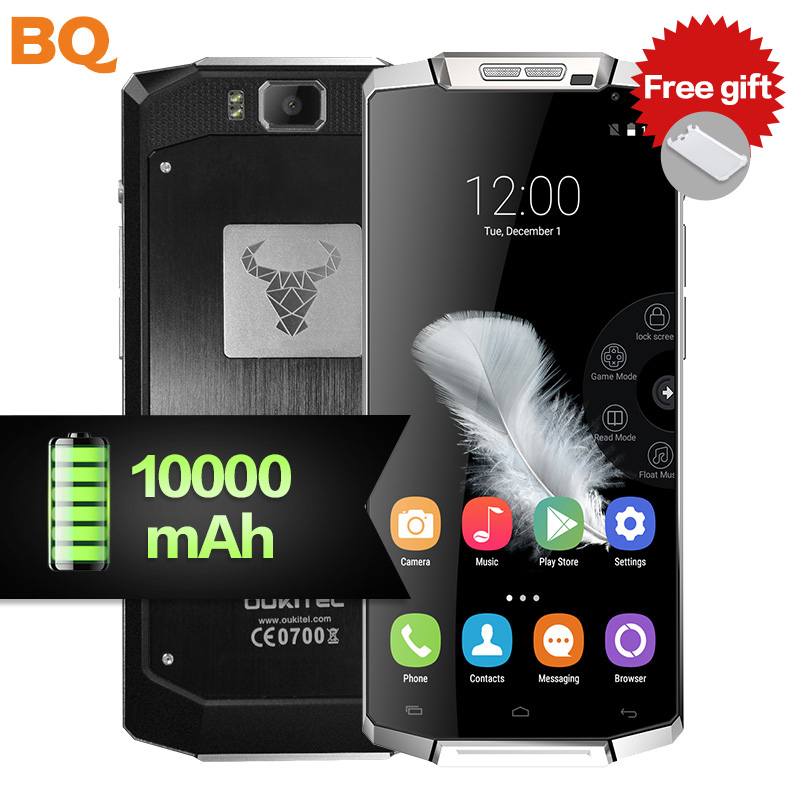 Oukitel K10000 Mobile phone Android big volume battery 10000mAh power bank 5 5 inch 2GB 16GB
