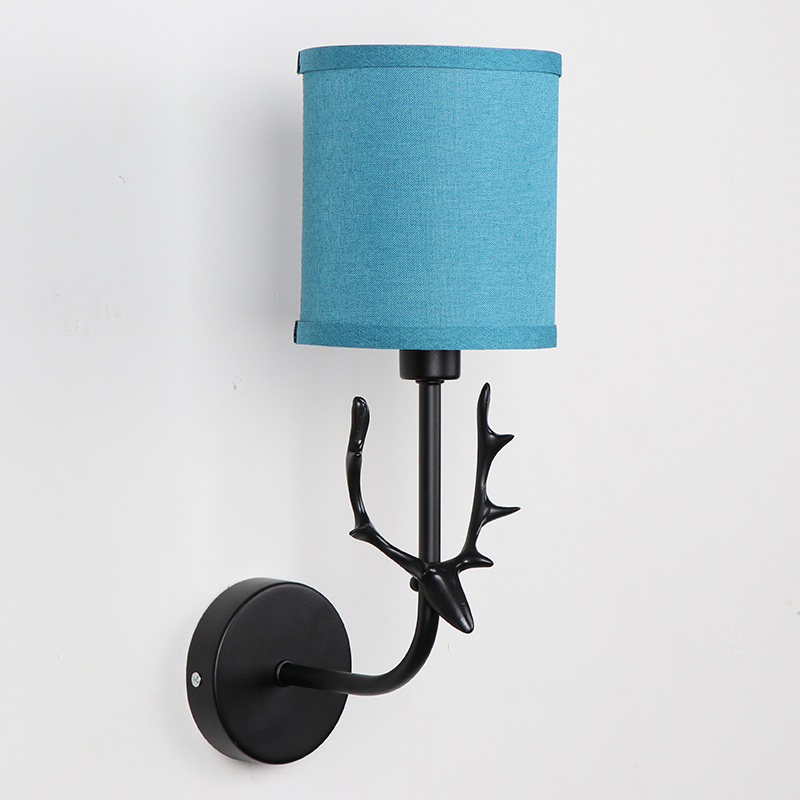 Childrens Wall Lamp: Indoor Bedroom Wall Lamp Fawn Shape Children Wall Light