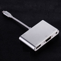 Mini Dp to VGA Converter Connector for Apple for Macbook Computer Vga Cable
