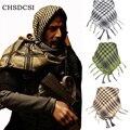 Многофункциональный Арабских Шарфы Мужчины Зима Обертывания Военные Новые Ветрозащитный Шарф тонкий Хлопок Мусульманское Hijab Тактический Пустыня Арабский 3 Цвет