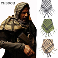 Multifunções Árabes Cachecóis Wraps Inverno Militar Dos Homens Novos À Prova de Vento Tactical Deserto Árabe Muçulmano Hijab Lenço de Algodão fino 3 Cores