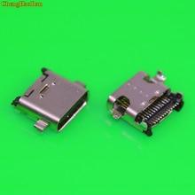 ChengHaoRan USB 3.1 Type-C 24pin female connector For Blackview P2 Lite Mobile Phone Charging port Socket Tow feet plug