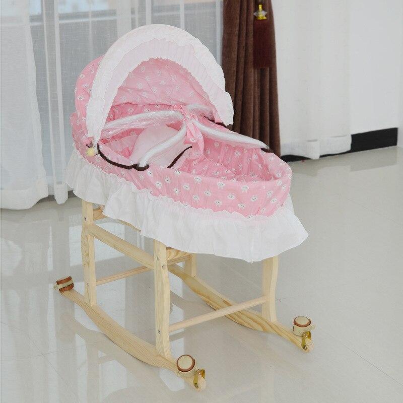 Berceau lit Portable bébé berceau édition prolongée bébé panier de couchage nouveau-né lit mère et bébé en gros