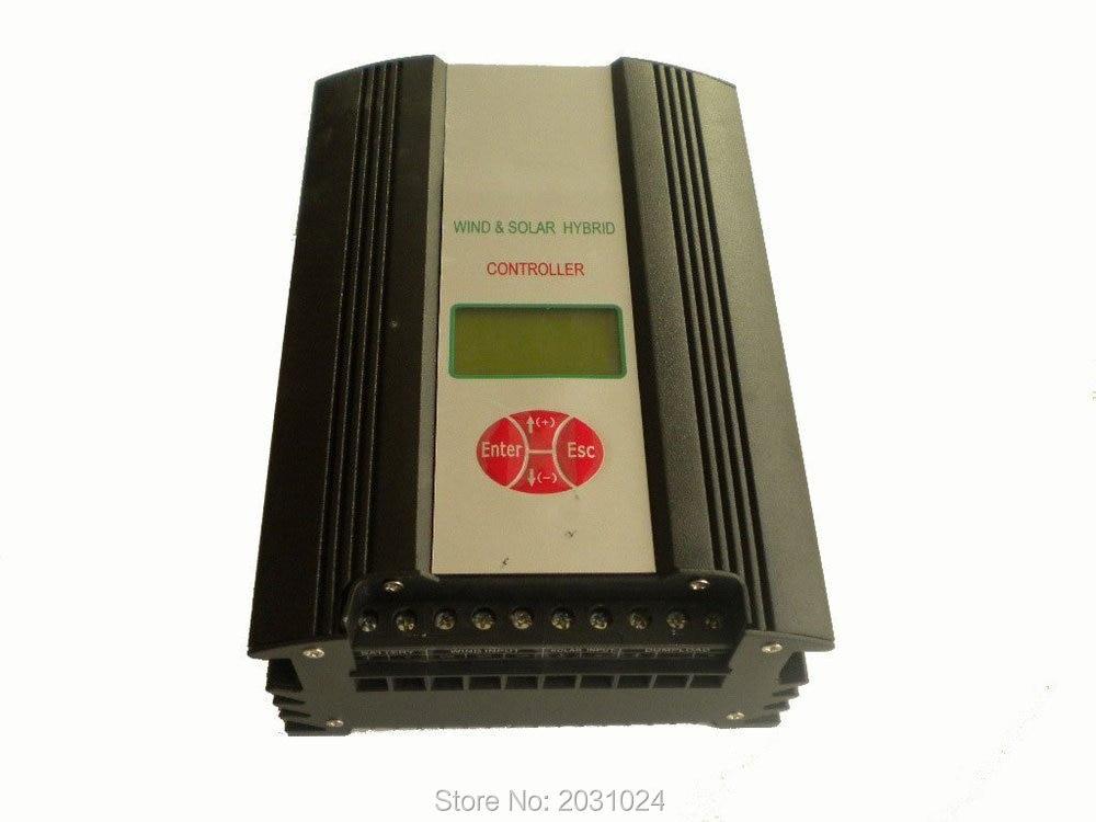 Hybrid Wind Solar Charge Controller 1000W, 48V, wind charge controller regulator 5000w hybrid wind charge controller solar 48v 5kw