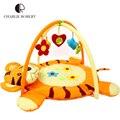 Juguete educativo del bebé Kids Play Mat Tapete algodón Infantil historieta que se arrastra juego tigre juego de gimnasia alfombra manta 0-1 años HK877