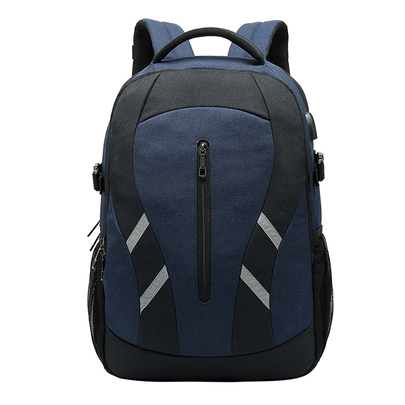 Usb Backpack Men's Big Capacity Travel Sport Waterproof Notebook Backpack College Bag