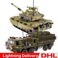 XINGBAO 06014 + 06015 Genuine Military Series The Scorpion Heavy Truck Set Building Blocks Bricks lepinings Toys Children Gifts