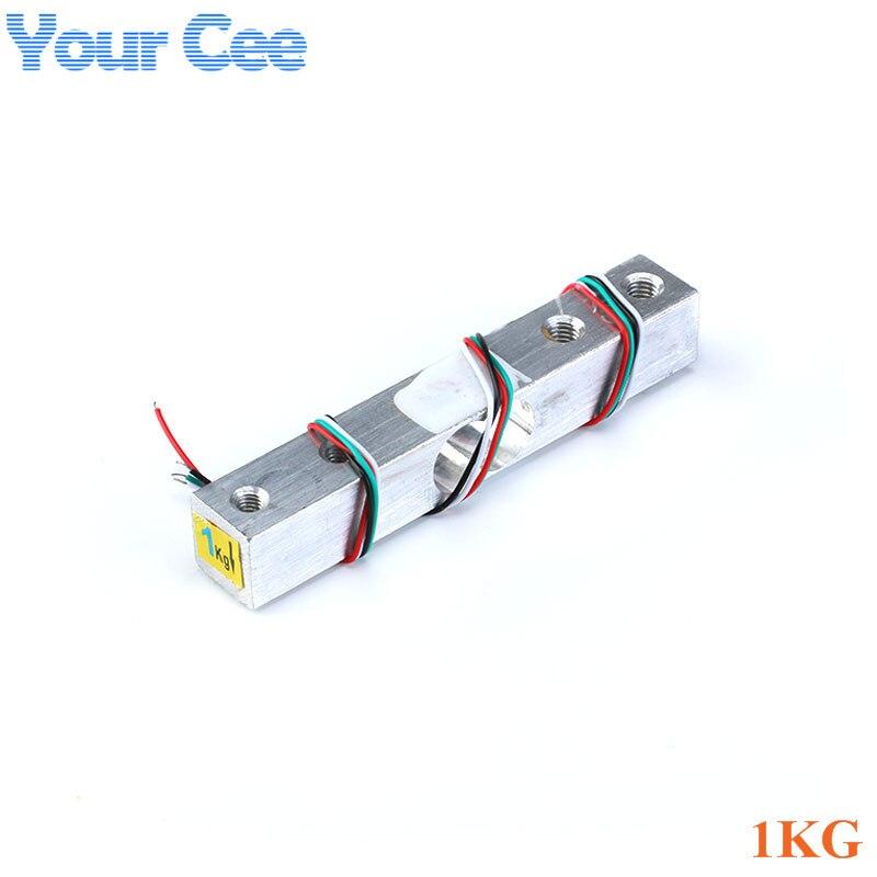 Тензодатчик 1 кг 5 кг 10 кг 20 кг HX711 AD модуль датчик веса электронные весы алюминиевый сплав взвешивания датчик давления