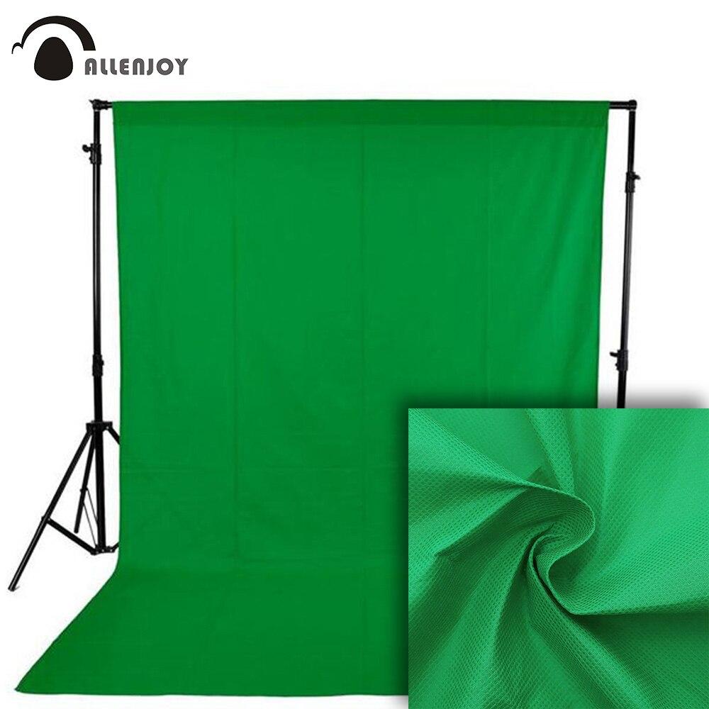 Allenjoy Photophone Photography Backdrops Green Screen Hromakey Chromakey Video Shoot Background Photo Studio Non-woven Fabric