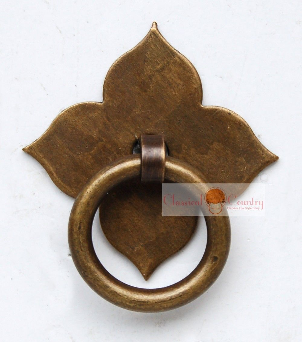 Drawer Pull Knob Pull Handles Brass Hardware Chinese Furniture Cabinet Door  Knocker Copper 2 Sets In Cabinet Pulls From Home Improvement On  Aliexpress.com ...