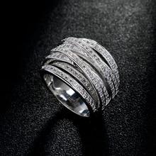 2017 Hot Luxury Zircon Rings For