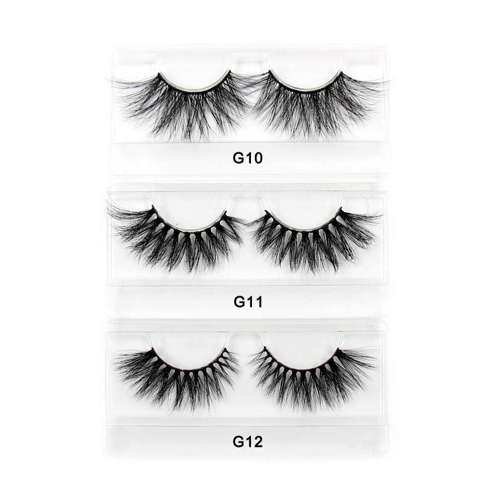 693af8b72b2 ... LEHUAMAO Eyelashes 25mm 5D Mink False Eyelashes Ultra-Long Lashes Adds  volume seduction lightweight comfortable ...
