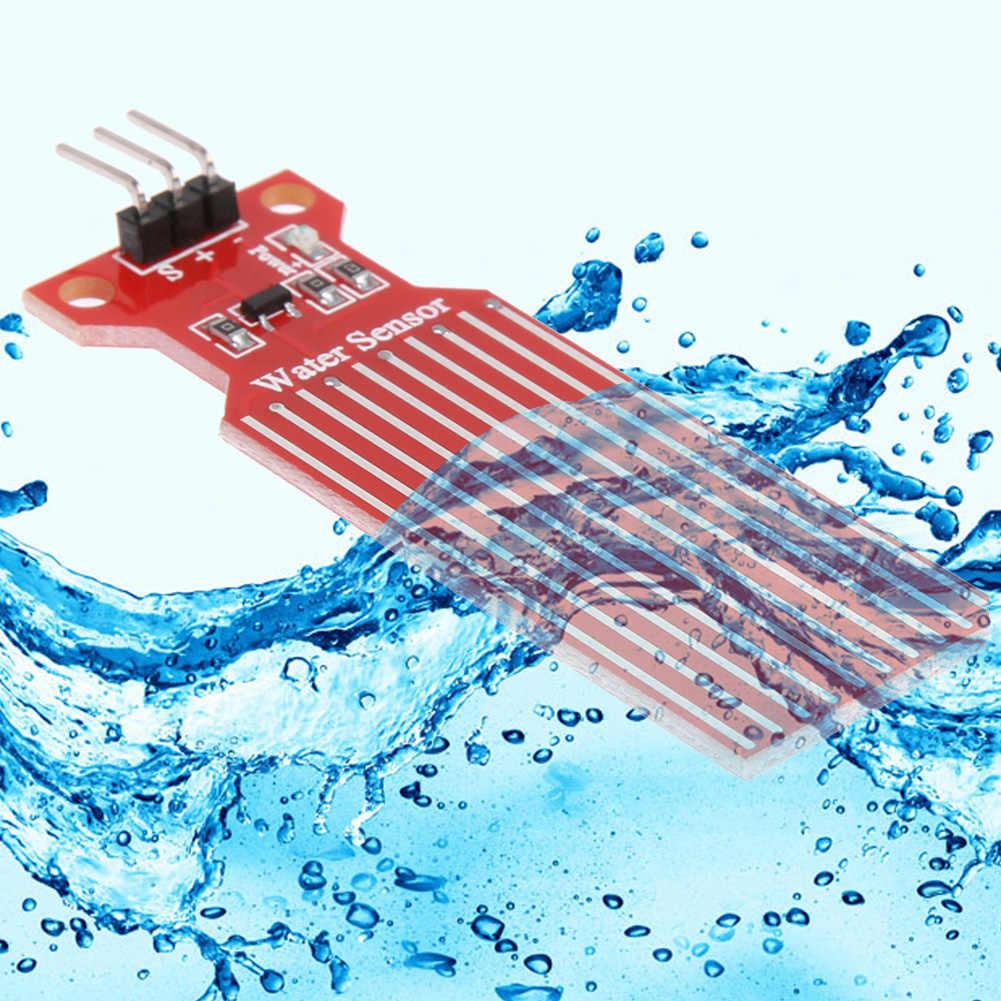 1 Pc Hoge Gevoeligheid Water Liquid Level Sensor Regen Waterniveausensor Module Detectie Vloeistof Oppervlak Diepte Hoogte Voor Arduino