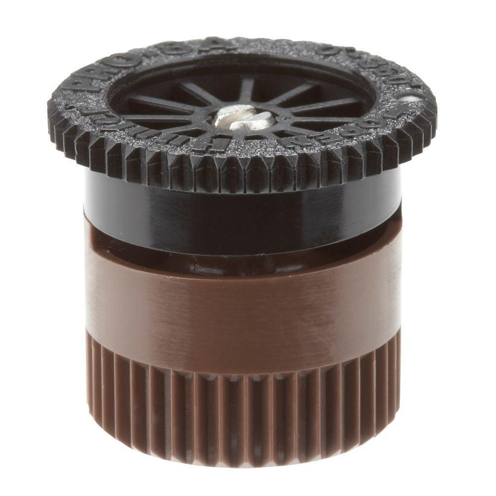ZM  Sprinkler 8AN  Pro Adjustable Radius Nozzle, 8-Feet, Brown Compatible Alternative Hunter Rainbird Orbit