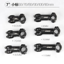 UNO 7 Degree 31.8mm*60-110mm Bike Stem Matt Ultra light Aluminium Alloy MTB Road Bicycle Handlebar Stems 28.6mm Fork Clamp Dia.