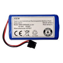 Clean Robot Battery CEN540 CEN546 CEN550 CEN640 CEN646 X500 X580 KK8 CR120 CR130 V780 V7 V7S for Ecovacs Mirror Vacuum Cleaner цена в Москве и Питере