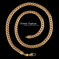 (500*6 mm)Charming 18 k Gold Plated Snake Necklaces Men for Factory Direct Sale