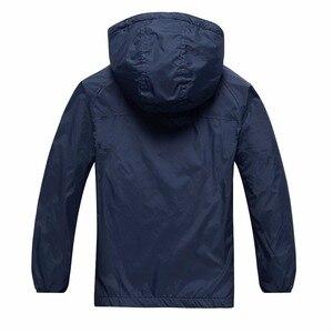 Image 3 - Chaquetas de lana impermeables para bebés, ropa de abrigo para niños, trajes para niños de 3 a 14 años