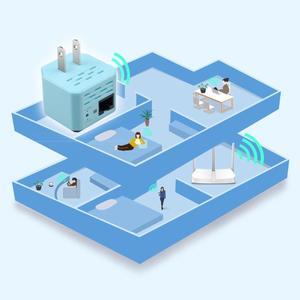 """Image 3 - 300Mbps אלחוטי נתב WiFi מהדר 2.4Ghz AP נתב 802.11N Wi fi אות מגבר טווח Extender בוסטרים עם ארה""""ב האיחוד האירופי תקע"""