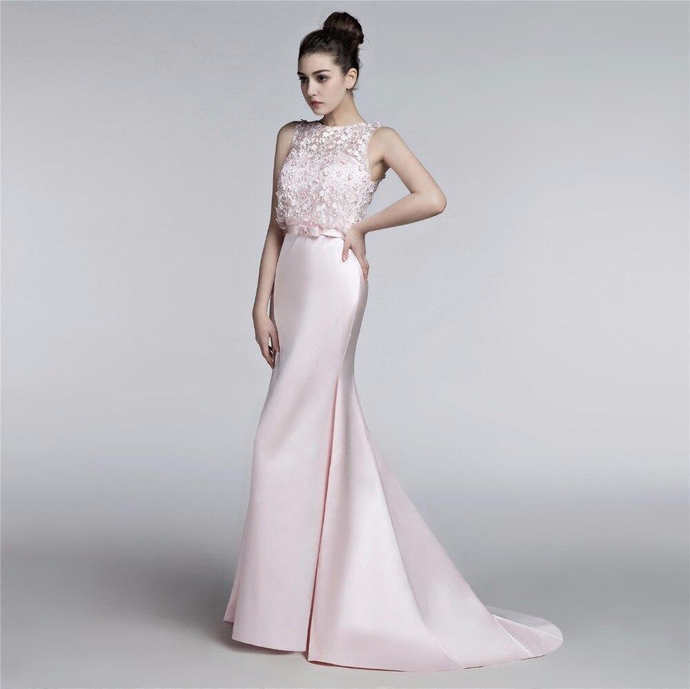 Aliexpress.com : Buy BRLMALL Saudi Arabia Light Pink Evening ...