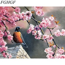 FGHGF Frameless picture on wall acrylic painting by numbers abstract drawing by numbers coloring by numbers(China)