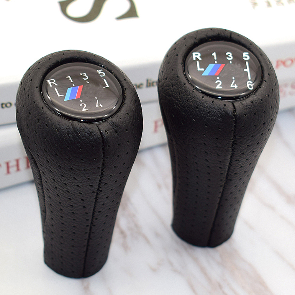 6 Speed Car Gear Shift Knob With M Logo For BMW 1 3 5 6 Series