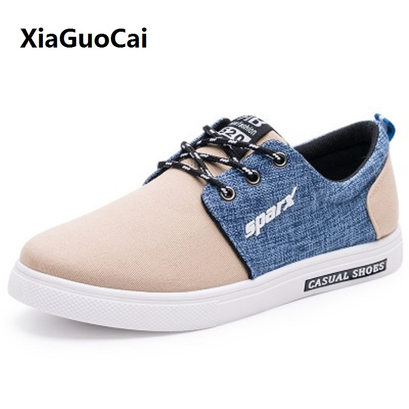Spring/Autumn Man casual shoes Canvas shoes Breathable Low Board Outwear Flats Driving Walking shoes lace-up Male Shoes YC5