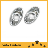 Chrome Front Fog Light Cover for Ford Focus MK3 Sedan & Hatchback 12-13-Free Shipping