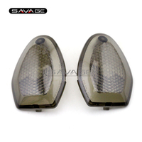 For SUZUKI DL650 V-Strom /ADV/XT DL1000 V-Strom 2013-2016 Motorcycle Front/Rear Turn signal Light Blinker Lens Smoke