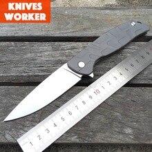 LDT Tabargan 95 Tactical Folding Knife Ball Bearings Flipper 8CR18MOV Blade Steel Camping Outdoor Survival Knives EDC Tools OEM