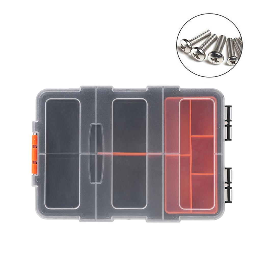 tool box F-156 Portable Plastic Tool Parts Storage Box Suitcase electrician Case Holder For Tools