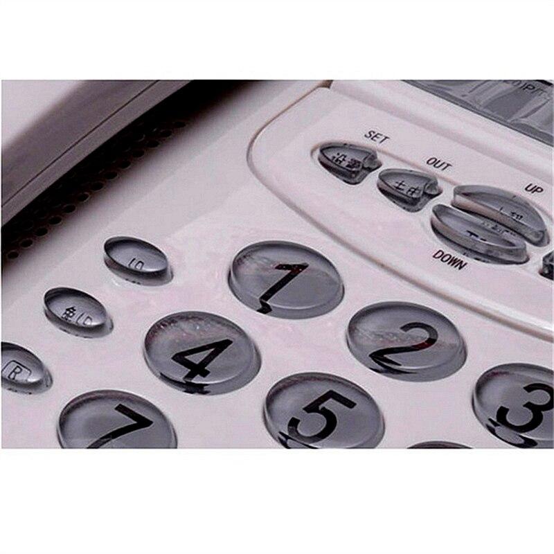 Telefones caller id display rotativo tela Fiação : com Fio