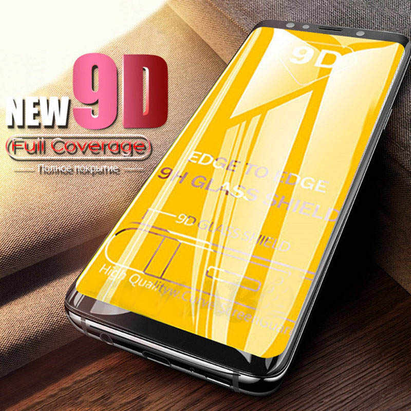 9D GLASS for samsung a50 a6 a7 a8 2018 Plus a750 j4 j6 j8 2018 protective glas on the galaxy a 6 7 50 30 6j 8j screen protector