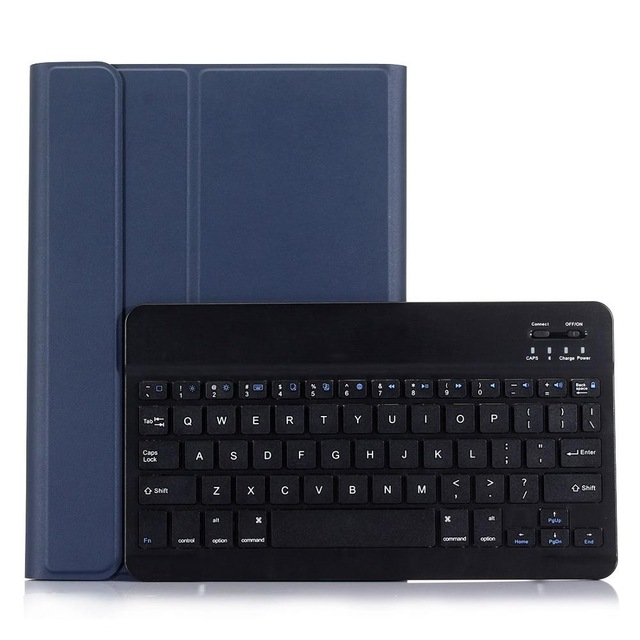 For iPad 5 / 6 / Air / Air 2 / Pro 9.7 High-Quality Ultra thin Detachable Wireless Bluetooth Keyboard Case cover