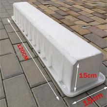 Предупреждение свай плесень пересечение знак свай цементная колонна индикатор полиции свай бетонная форма 15*15*120cm
