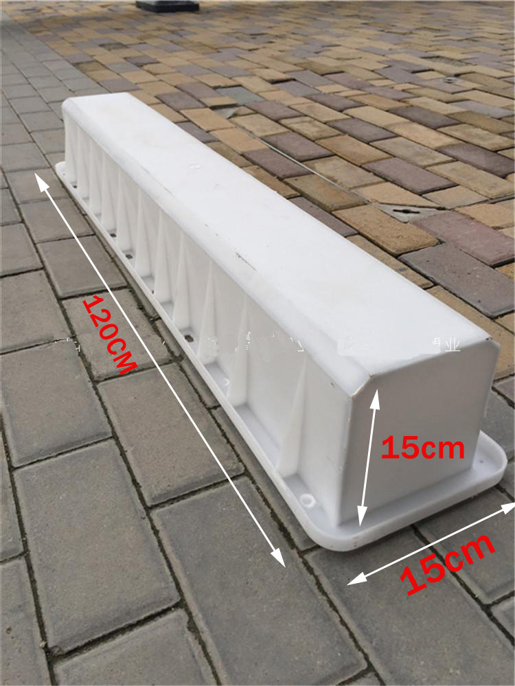Warning pile mould intersection sign pile cement column indicator police pile concrete mould 15*15*120cmWarning pile mould intersection sign pile cement column indicator police pile concrete mould 15*15*120cm